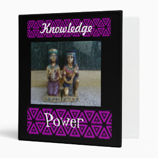 Carry Knowledge 3 Ring Binder