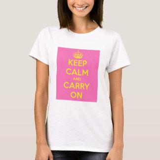 Carry On Bubblegum and Sunshine T-Shirt