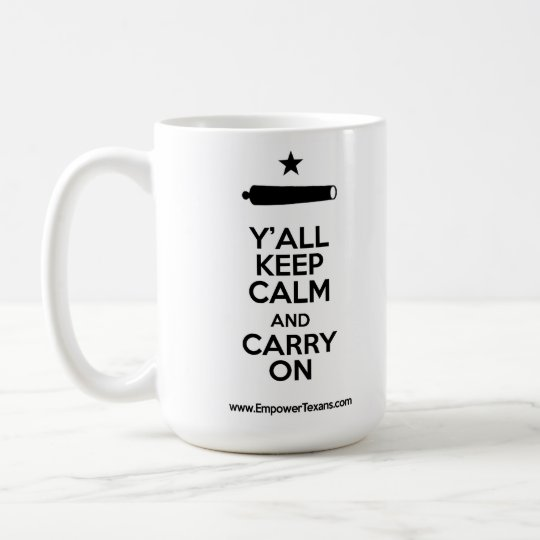 Carry On! Coffee Mug