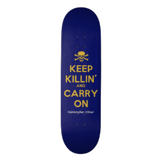 """Carry On"" Ghost Killosopher Apparel Deck"