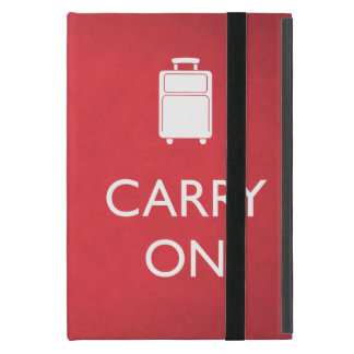 CARRY ON - Luggage - Funny Red iPad Mini Case