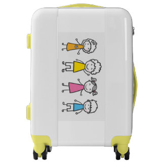 Carry On Luggage Suitcase/Family