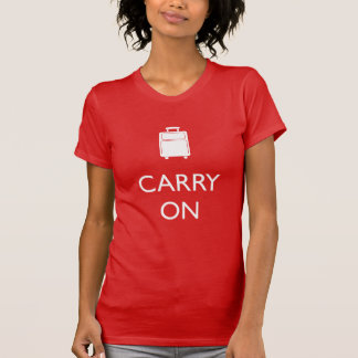 CARRY ON - Luggage - Word Nerd Shirt