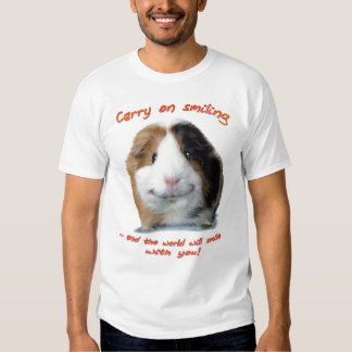 Carry on Smiling! Tshirts