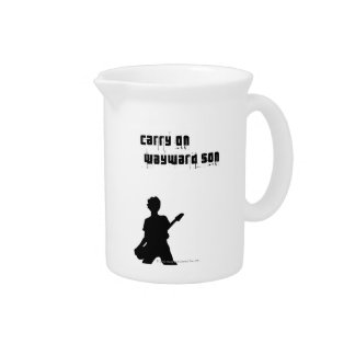 Carry On Wayward Son Beverage Pitchers