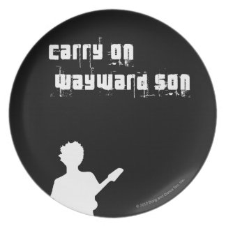Carry On Wayward Son Dinner Plate