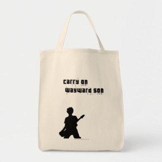 Carry On Wayward Son Tote Bag