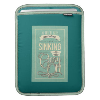 Carry On When You're Lost iPad Case Sleeves For iPads