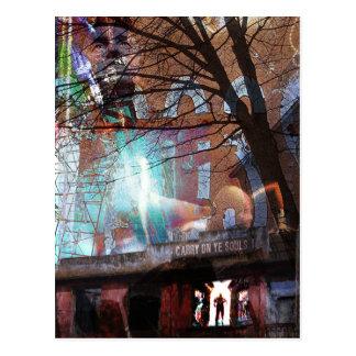 Carry On Ye Souls Postcard