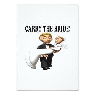Carry The Bride 2 Custom Invite