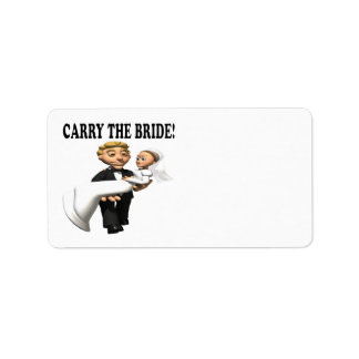 Carry The Bride 2 Label