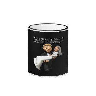 Carry The Bride 2 Ringer Mug