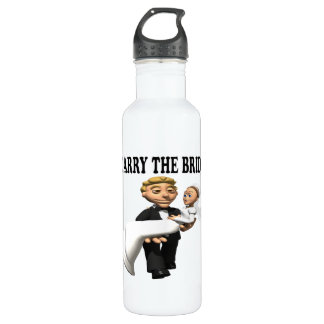 Carry The Bride 2 Stainless Steel Water Bottle