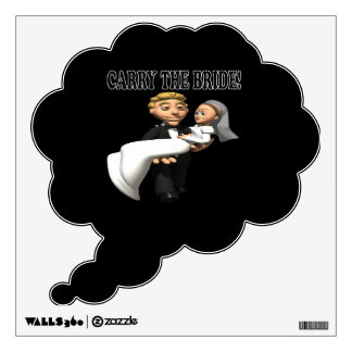 Carry The Bride 2 Wall Sticker