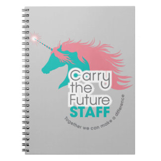 Carry the Future Staff Notebook