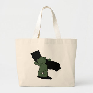 Carry the weight canvas bag