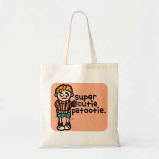 carry your cute little doggy woggy. tote bag
