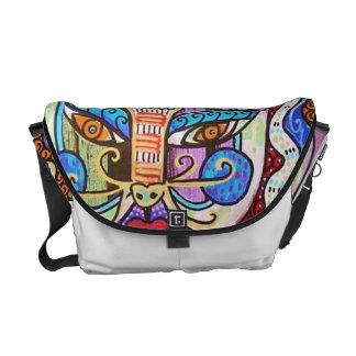 CarryAll Swag Bag - Talavera Cat Messenger Bag