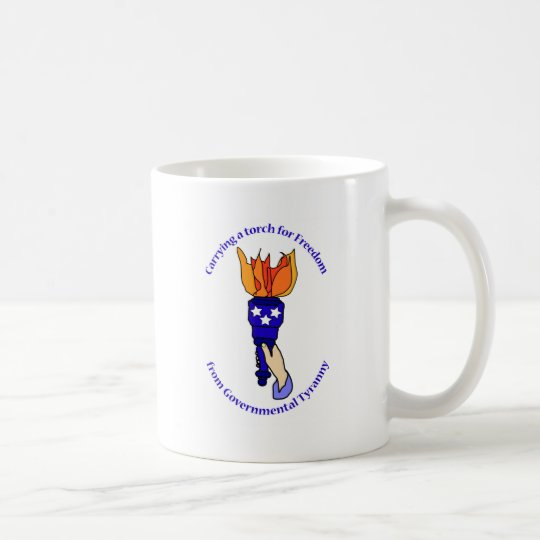 Carrying a Torch Coffee Mug