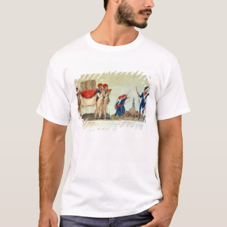 Carrying of the Model of the Bastille T-Shirt