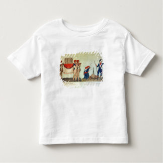 Carrying of the Model of the Bastille Toddler T-shirt