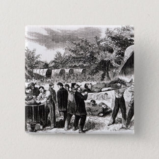 Carrying off the Wounded after the Antietam Button