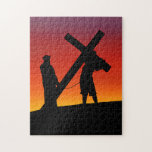 Carrying the Cross Jigsaw Puzzle