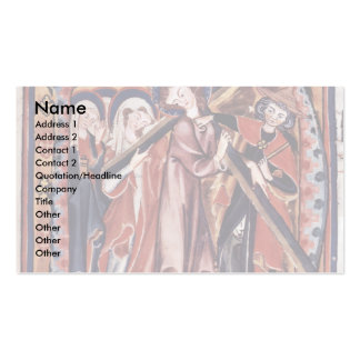 Carrying The Cross Of Christ Initial By Meister De Business Card Templates