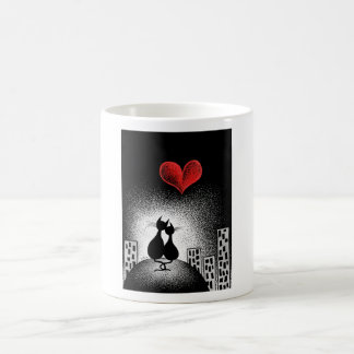 Carrying Your Love With Me Classic White Coffee Mug