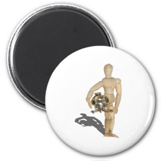 CarryingDivingHelmet081212.png 2 Inch Round Magnet