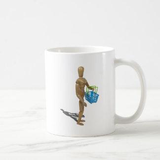CarryingShoppingBasket101311 Coffee Mug