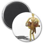 CarryingWesternSaddle110511 Magnet