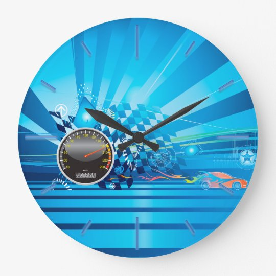 Cars 1 Wall Clocks Options