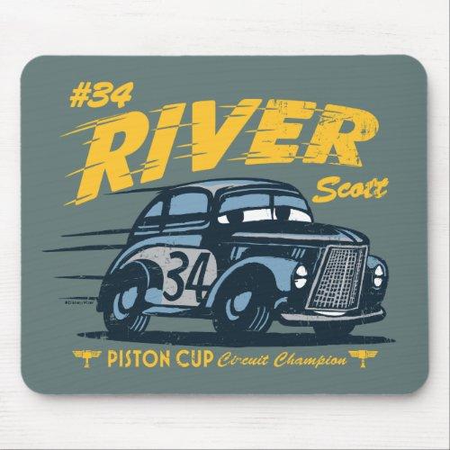Cars 3 | #34 River Scott Mouse Pad