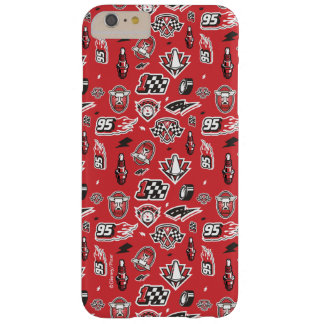 Cars 3   95 Lightning McQueen Speed Pattern Barely There iPhone 6 Plus Case