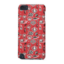 Cars 3 | 95 Lightning McQueen Speed Pattern iPod Touch (5th Generation) Cover
