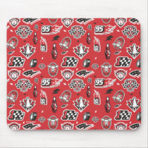 Cars 3 | 95 Lightning McQueen Speed Pattern Mouse Pad