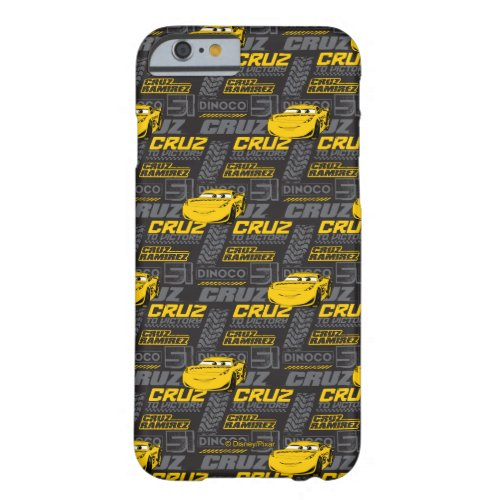 Cars 3 | Cruz Ramirez - Cruz to Victory Pattern Barely There iPhone 6 Case