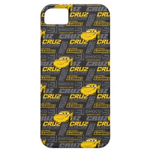 Cars 3 | Cruz Ramirez - Cruz to Victory Pattern iPhone SE/5/5s Case