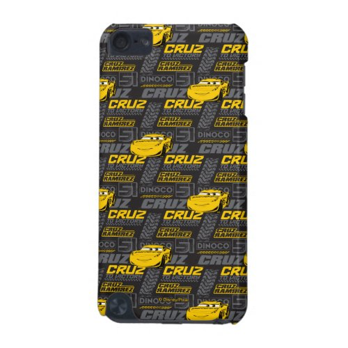Cars 3 | Cruz Ramirez - Cruz to Victory Pattern iPod Touch (5th Generation) Cover