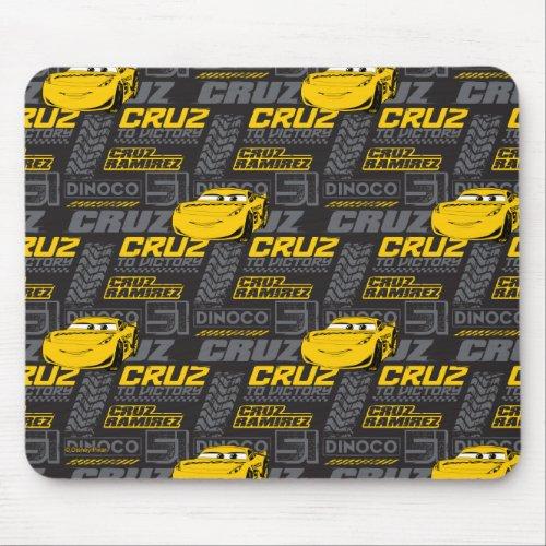 Cars 3 | Cruz Ramirez - Cruz to Victory Pattern Mouse Pad