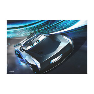 Cars 3 | Jackson Storm - Storming Through Canvas Print
