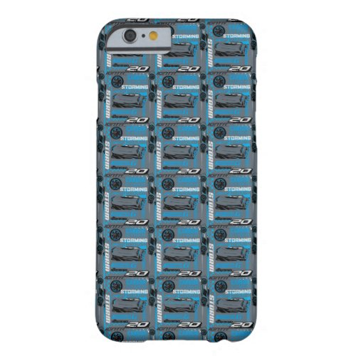 Cars 3 | Jackson Storm - Storming Through Pattern Barely There iPhone 6 Case