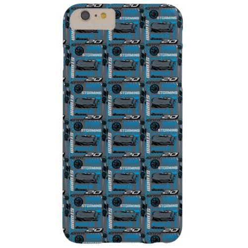 Cars 3 | Jackson Storm - Storming Through Pattern Barely There iPhone 6 Plus Case
