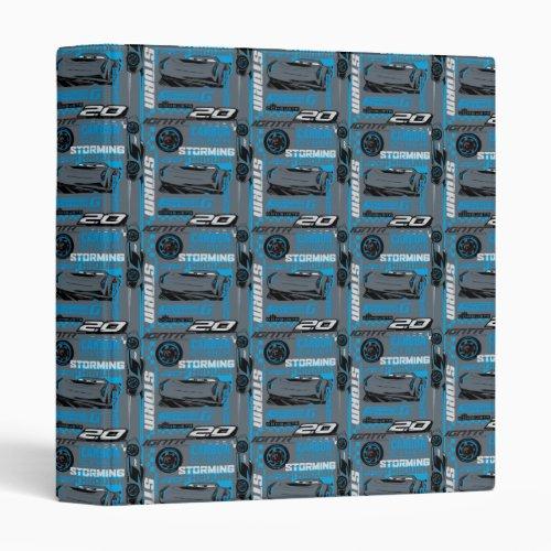 Cars 3 | Jackson Storm - Storming Through Pattern Binder