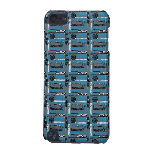 Cars 3 | Jackson Storm - Storming Through Pattern iPod Touch (5th Generation) Case