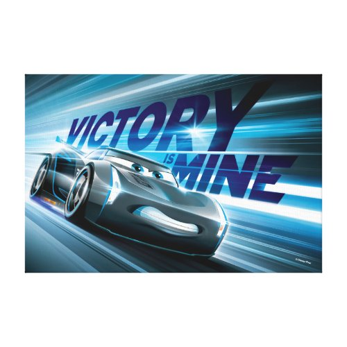 Cars 3 | Jackson Storm - Victory is Mine Canvas Print