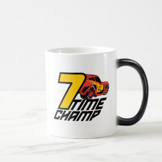 Cars 3 | Lightning McQueen - 7 Time Champ Magic Mug