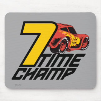 Cars 3   Lightning McQueen - 7 Time Champ Mouse Pad