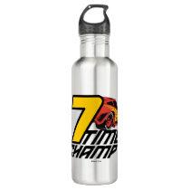Cars 3 | Lightning McQueen - 7 Time Champ Stainless Steel Water Bottle